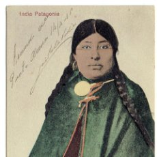 Postales: PS6472 INDIA PATAGONIA. HENRY POIRIER. CHILE. PRINC. S. XX. Lote 54964147