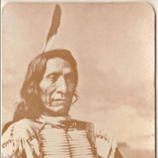 Postales: ANTIGUA POSTAL, RED CLOUD, JEFE SIOUX - OLD WEST COLLECTORS SERIES - SIN CIRCULAR. Lote 55325177