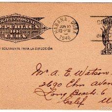 Postales: POSTAL REPUBLICA DE CUBA EN 1946. Lote 55335711