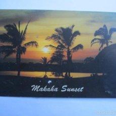 Postales: MAKAHA SUNSET. Lote 55891782