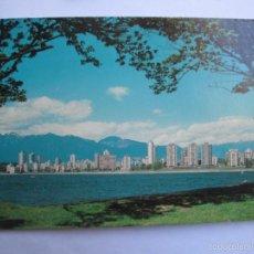 Postales: ENGLISH BAY SKYLINE VANCOUVER CANADA. Lote 55939313
