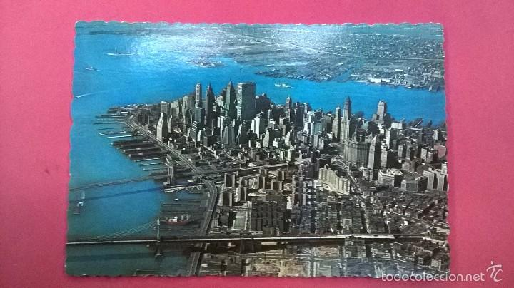 POSTAL NUEVA YORK-MANHATTAN (Postales - Postales Extranjero - América)