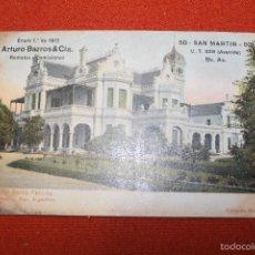 Postales: POSTAL PALACIO SANTA FELICITA BUENOS AIRES, ,ARGENTINA, EDITORES PITA Y CATALANO 1910. Lote 56013167