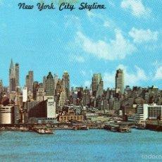 Postales: NEW YORK CITY SKYLINE - CIRCULADA EN 1971-. Lote 56671441