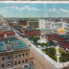 Postales: POSTAL CIRCULADA DESDE TAMPA (FLORIDA) A MADRID -1915. Lote 56854451