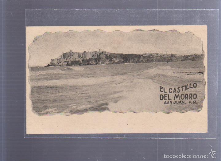 TARJETA POSTAL. PUERTO RICO. EL CASTILLO DEL MORO. SAN JUAN. (Postales - Postales Extranjero - América)