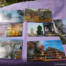 Postales: POSTALES DE BUENOS AIRES DE LOS AÑOS 50. Lote 57126203