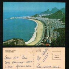 Postales: RIO DE JANEIRO - COPACABANA - OLD POSTCARD. Lote 57225445