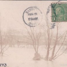Postales: FLOOD OF 1913 SIDNEY, OHIO, USA. Lote 57273713