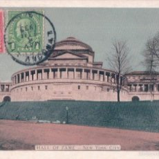 Postales: NEW YORK UNIVERSITY AND HALL OF FAME. Lote 57273795