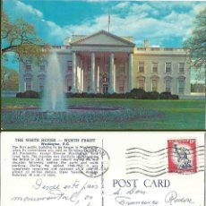 Postales: THE WHITE HOUSE. NORT FRONT. CIRCULADA. Lote 57434135