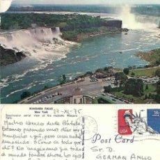 Postales: NIAGARA FALLS. CIRCULADA. 1975. Lote 57491902