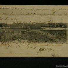 Postales: POSTAL ACAPULCO ESCUADRA AMERICANA DE GUERRA RUBLAND 1904. Lote 57669669