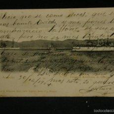 Postales: POSTAL ACAPULCO ESCUADRA AMERICANA DE GUERRA RUBLAND 1904. Lote 57669688