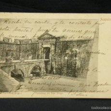 Postales: POSTAL FORTALEZA DE SAN DIEGO ACAPULCO MEXICO RUBLAND MEXICO A OVIEDO ASTURIAS PPIO S XX. Lote 57669910