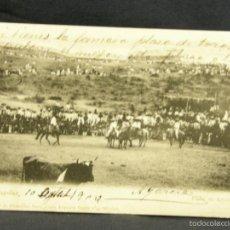 Postales: POSTAL ACAPULCO MEXICO PLAZA DE TOROS RUBLAND MEXICO A OVIEDO ASTURIAS PPIOS S XX. Lote 57670076