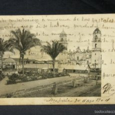 Postales: POSTAL ACAPULCO MEXICO PLAZA RUBLAND MEXICO A OVIEDO ASTURIAS 1904. Lote 57670088