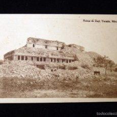 Postales: ANTIGUA POSTAL DEL YUCATÁN (MÉXICO). RUINAS DE ZAYÍ. AÑOS 20. SIN CIRCULAR. Lote 57882031