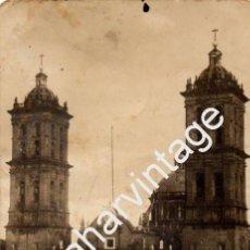 Postales: PUEBLA, MEXICO, POSTAL FOTOGRFICA , LA BASILICA. Lote 58477026