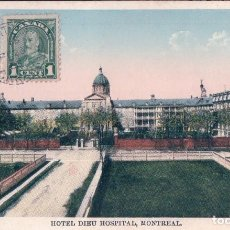 Postales: HOTEL DIEU HOSPITAL, MONTREAL. CANADA. 896. Lote 62078296