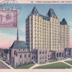 Postales: DESLOGE HOSPITAL ST. LOUIS MISSOURI MO. . Lote 62118024