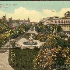 Postales: HABANA, REPUBLICA DE CUBA - PARQUE DE LA INDIA - EDICION JORDI Nº 65 - SIN CIRCULAR. Lote 62139656