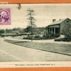 Postales: ESTADOS UNIDOS - NEW JERSEY - JERSEY CITY - LINCOLN PARK - THE LODGE - AÑOS 30 - ART POST CARDS . Lote 63341884