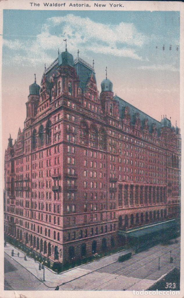 NEW YORK / THE WALDORF-ASTORIA (Postales - Postales Extranjero - América)