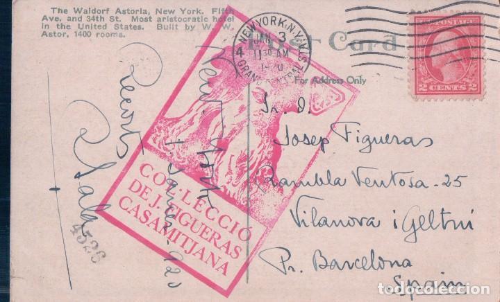 Postales: NEW YORK / The Waldorf-Astoria - Foto 2 - 63376560