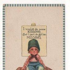 Postales: (ALB-TC-4) POSTAL INFANTIL MADE IN USA ESCRITA SIN SELLO 1912. Lote 63896759