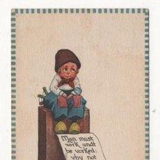 Postales: (ALB-TC-4) POSTAL INFANTIL MADE IN USA ESCRITA SIN SELLO 1912. Lote 63896847