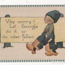 Postales: (ALB-TC-4) POSTAL INFANTIL MADE IN USA ESCRITA SIN SELLO 1912. Lote 63896863