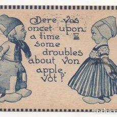 Postales: (ALB-TC-4) POSTAL INFANTIL MADE IN USA ESCRITA CON SELLO 1912. Lote 63896903