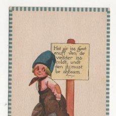Postales: (ALB-TC-4) POSTAL INFANTIL MADE IN USA ESCRITA SIN SELLO 1913. Lote 63897203