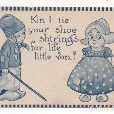 Postales: (ALB-TC-4) POSTAL INFANTIL MADE IN USA ESCRITA SIN SELLO 1913. Lote 63897259