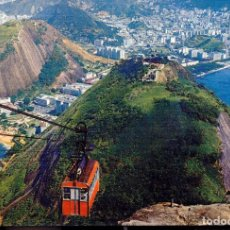 Cartes Postales: BRASIL RIO DE JANEIRO TELEFERICO POSTAL CIRCULADA . Lote 64100447
