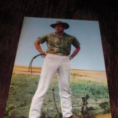 Postales: CHARLTON HESTON POSTAL N 1095 COLOR COLECION RAKER SIN CIRCULAR OLD AGN FABREGAS. Lote 64395383
