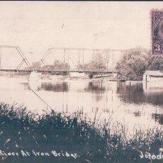 Cartoline: POSTAL NEW YORK - SENECA AT IRON BRIDGE. Lote 64630271