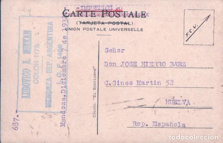 Postales: CASA DONDE NACIO DOMINGO F. SARMIENTO. SAN JUAN. LUDOVIGO A MIKKAN ICF 1466 - Foto 2 - 64834127