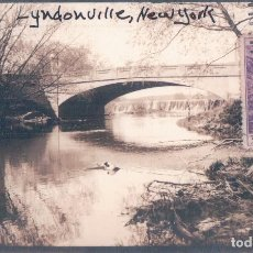 Postais: POSTAL BRIDGE, LYNDONVILLE NY - RECP 22515 LEONARD A REINGRUBER. Lote 64857299