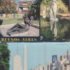 Postales: 6 POSTALES DE BUENOS AIRES EN ACORDEÓN.. Lote 68364433