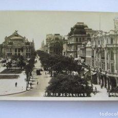 Postales: RIO DE JANEIRO 299 AVENIDA RIO BRANCO, BRASIL - LEONAR. Lote 68621853
