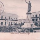 Postales: POSTAL PLAZA HIDALGO, MONTERREY, MEXICO . SELLO AMBULANTE- JOSE ZASLAV ICF 2774-177. Lote 69104577