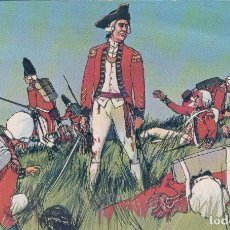 Postales: USA - BOSTON - THE BATTLE OF BUNKER HILL, GENERAL HOWE STANDING ALONE IN THE MIDST OF FALLEN COMRADE. Lote 69409241