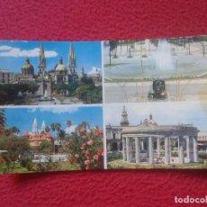 Postales: POSTAL POSTCARD CARTE POSTALE CATEDRAL CHAPALA PARQUE JUAREZ ROTONDA GUADALAJARA MEXICO JALISCO VER . Lote 71062289