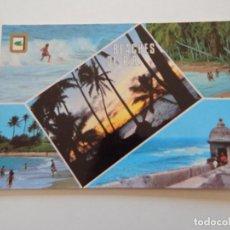 Postales: SAN JUAN, PUERTO RICO. PLAYAS DE PUERTO RICO. BEACHES DE PUERTO RICO. PLAGES DE PUERTO RICO. STRAND. Lote 71075545