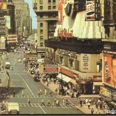 Postales: POSTAL, NEW YORK, TIMES SQUARE, SIN CIRCULAR. Lote 72129063