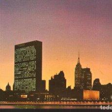 Postales: POSTAL, NEW YORK, UNITED NATIONS BUILDING, SIN CIRCULAR. Lote 72129707