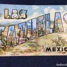 Postales: POSTAL LAS CAZUELAS MÉXICOSIN CIRCULAR. Lote 72244967