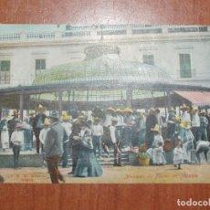 Postales: FOTO, POSTAL. REPUBLICA MEXICANA. MERCADO DE FLORES EN MEXICO. J.K.30 REGIST. MEXICO. CIRCULADA. Lote 73393883